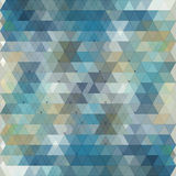 Abstract triangles background for design Royalty Free Stock Photos