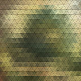 Abstract triangles background for design Stock Photo