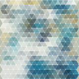 Abstract triangles background for design Stock Image