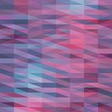 Abstract triangles background for design Stock Photography
