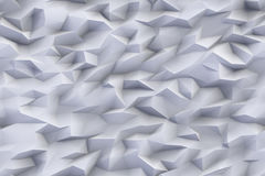 Abstract triangles background. Abstract grey color triangles background, 3d render illustration Royalty Free Stock Images