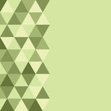 Abstract triangles background Stock Images