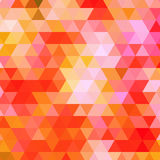 Abstract triangles background vector Stock Image