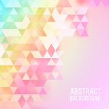 Abstract triangles background vector Royalty Free Stock Photos
