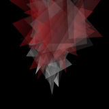 Abstract triangles dark background. Vector EPS10 Royalty Free Stock Image
