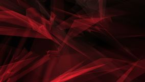 Abstract triangles dark motion background vector illustration