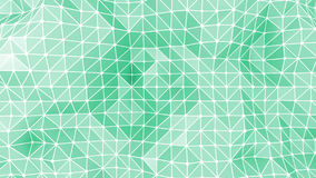 Abstract triangles geometric background. Abstract water green background made from triangular shapes Royalty Free Stock Photo
