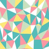 Abstract triangles geometrical pattern. Background Stock Photos
