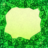 Abstract triangles  geometry background Royalty Free Stock Photo