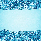 Abstract triangles geometry background stock illustration