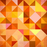 Abstract triangles grunge vector background Royalty Free Stock Images