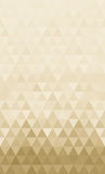 Abstract triangles horizontal continuous pattern background  Stock Photos