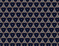Abstract triangles inside triangles pattern Stock Image