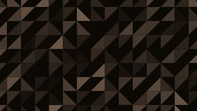 Abstract triangles looping background. stock video