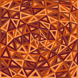 Abstract Triangles Orange Background Royalty Free Stock Photos
