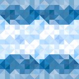 Abstract triangles pattern background. Water and Sky geometric b. Ackground. Vector illustration vector illustration