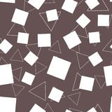 Abstract triangles and rectangle seamless background. Abstract triangles and rectangle pattern seamless Stock Photos