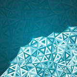Abstract triangles vector background Royalty Free Stock Photos