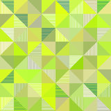 Abstract triangles vector green background Royalty Free Stock Image