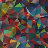 Abstract triangular background. Abstract background with polygonal shapes. Vector illustration Stock Photos