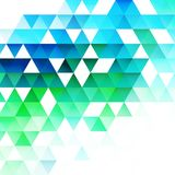 Abstract triangular background. Vector. Abstract trendy geometric triangular background. Vector illustration Royalty Free Stock Image