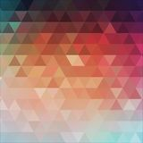 Abstract triangular background. Vector. Abstract trendy geometric triangular background. Vector illustration Royalty Free Stock Photos