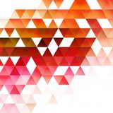 Abstract triangular background. Vector. Abstract trendy geometric triangular background. Vector illustration Royalty Free Stock Photography