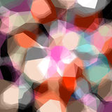 Abstract triangular color background Stock Photo