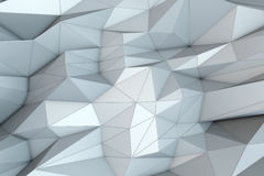 Abstract triangular crystalline background Royalty Free Stock Image