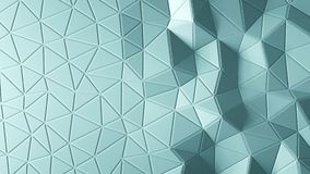 Abstract triangular crystalline background animation. 4K. Abstract triangular crystalline background animation. 3d rendering 4K stock video