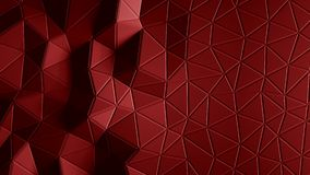 Abstract triangular crystalline background animation. 4K. Abstract triangular crystalline background animation. 3d rendering 4K stock video footage