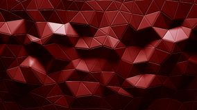 Abstract triangular crystalline background animation. 4K. Abstract triangular crystalline background animation. 3d rendering 4K stock footage