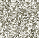 Abstract triangular seamless pattern Royalty Free Stock Images
