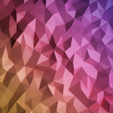 Abstract triangulated background. The colorful abstract triangulated background. 3d render Royalty Free Stock Photos