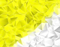 Abstract triangulated polygonal background. Polygonal background. Abstract triangulated texture. backdrop. Triangular style. Modern Design 3d Stock Image