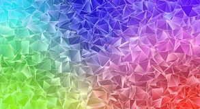 Abstract triangulated polygonal background. Polygonal background. Abstract triangulated texture. backdrop. Triangular style. Modern Design 3d Stock Photos
