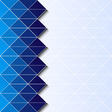 Abstract triangylar background eps10. Abstract geometric background with triangular polygons eps10 stock illustration