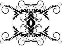 Abstract Tribal Design element Stock Photo