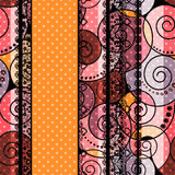Abstract tribal ethnic geometrical pattern bright background Royalty Free Stock Images