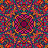Abstract Tribal ethnic mandala round ornament Royalty Free Stock Photography