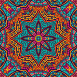 Abstract Tribal ethnic seamless pattern ornamental. Abstract Tribal vintage ethnic seamless pattern ornamental. Colorful festive frame vibrant Royalty Free Stock Photos