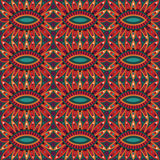 Abstract tribal ethnic seamless pattern. Abstract vector tribal ethnic background seamless pattern Royalty Free Stock Image