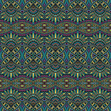 Abstract tribal ethnic seamless pattern Royalty Free Stock Photos