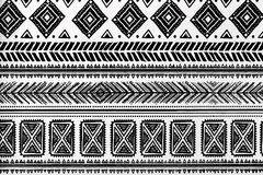 Abstract Tribal Pattern. Abstract background Stock Photo
