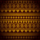 Abstract tribal pattern. This is file of EPS10 format Stock Image