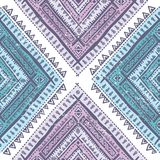 Abstract tribal pattern Royalty Free Stock Photography