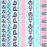 Abstract tribal pattern Royalty Free Stock Images