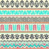 Abstract tribal pattern Stock Photos