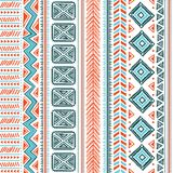 Abstract tribal pattern Stock Photo