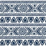 Abstract tribal pattern Stock Photography